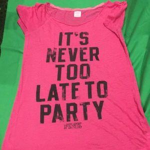 Pink night shirt